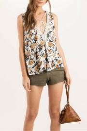 POL Floral Openback Tank - Product Mini Image