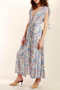 Shoptiques Product: Floral Wrap Maxi Dress