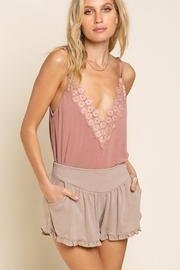 POL Flower Knit  Camisol Top - Product Mini Image