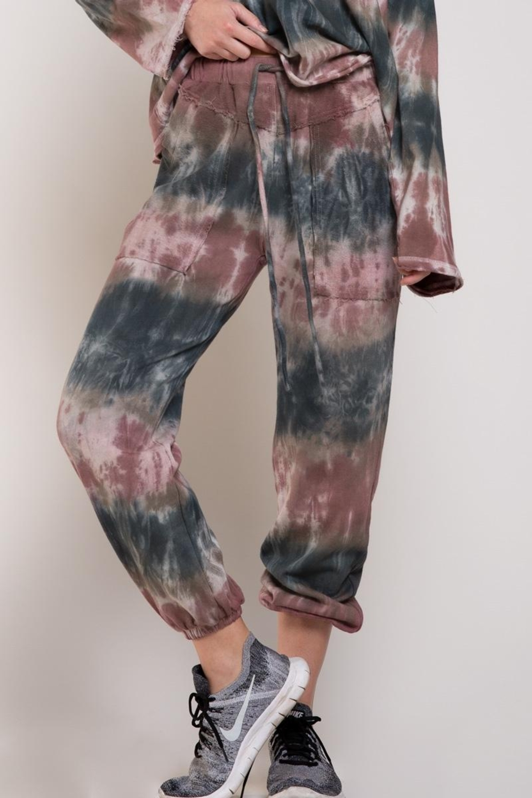 POL French Terry Tie Dye Joggers - Main Image
