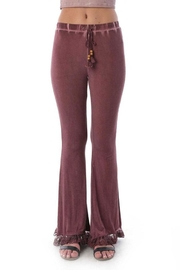 POL Fringe Flair Pants - Front cropped