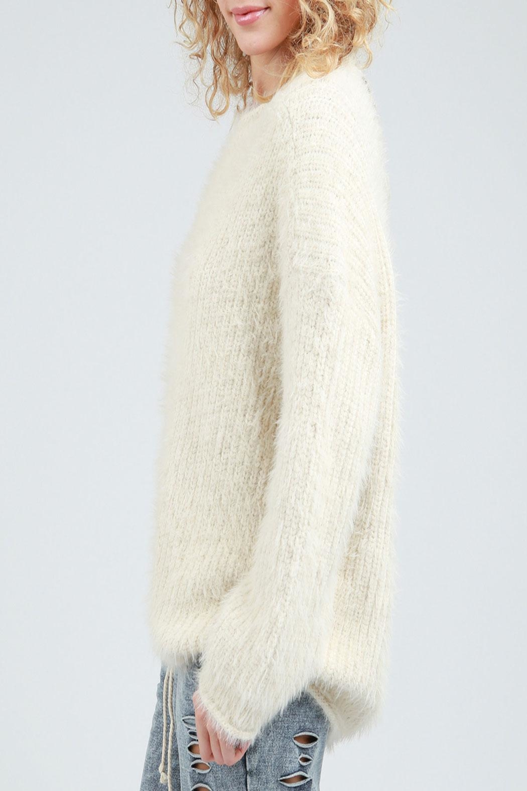 POL Fuzzy Wuzzy Sweater - Front Full Image