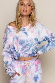 POL Galaxy Splash Pull Over - Front cropped