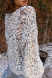 POL Haze Mohair Pullover - Side cropped