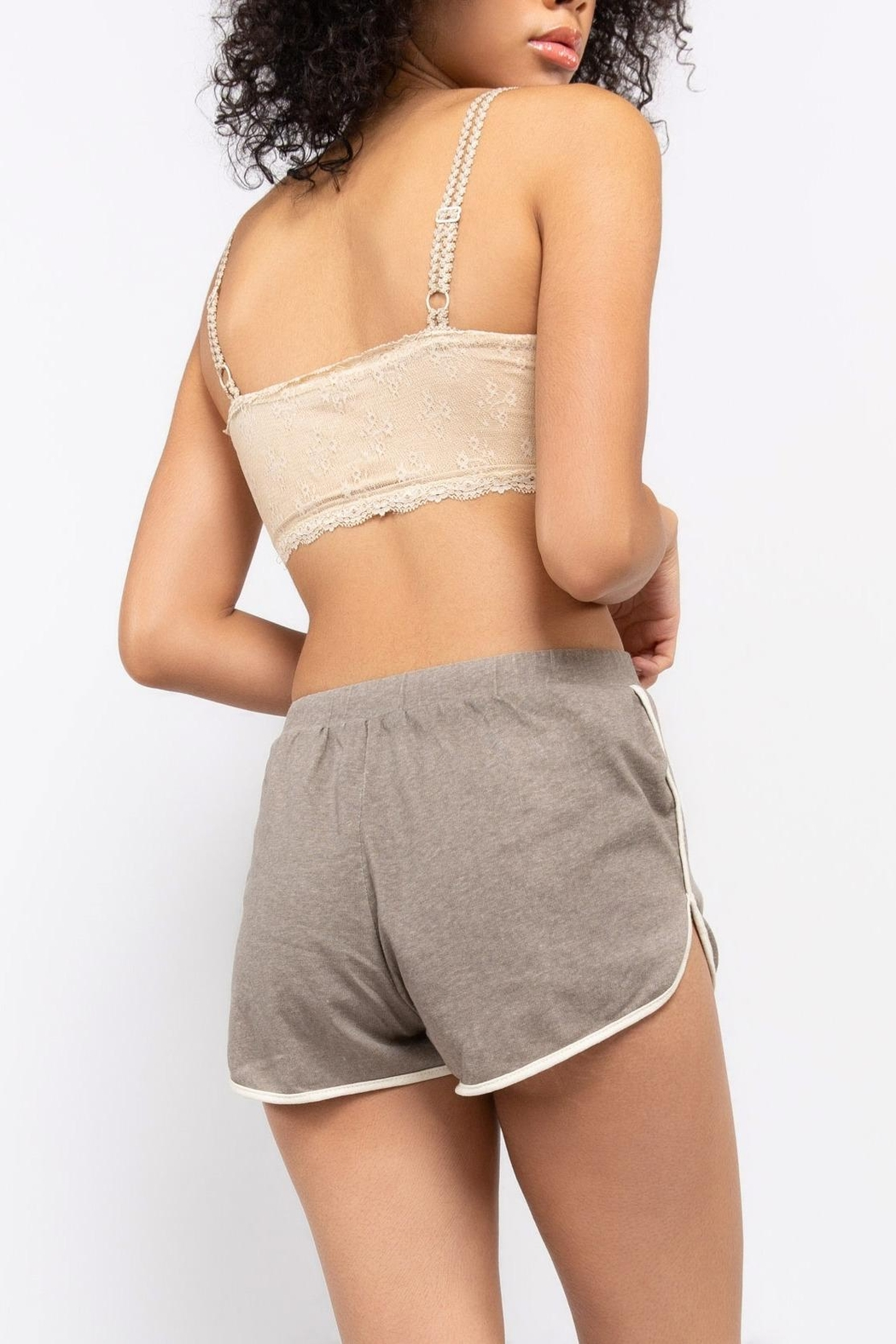 POL Jersey Shorts - Front Full Image