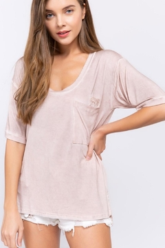 POL Knit Top With Pocket Detail - Product List Image