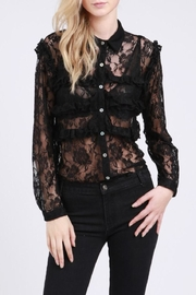 POL Lace Button Shirt - Product Mini Image
