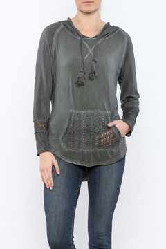 Shoptiques Product: Lace Detailed Hoodie