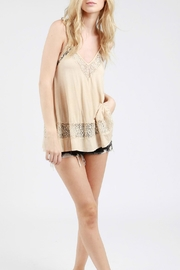 POL Lace Embroidred Top - Product Mini Image