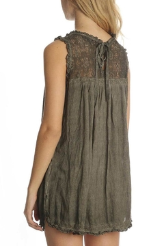 Shoptiques Product: Lace Sleeveless Top