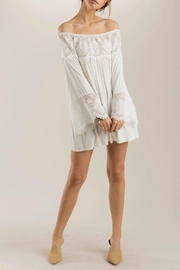 POL Lace Tunic - Front full body