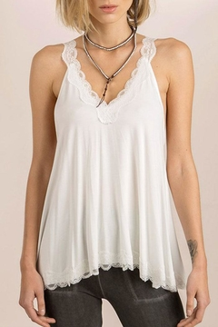 Shoptiques Product: Laced Flowy Camisole Top