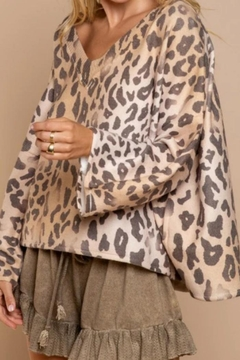 POL Leopard Swing Top - Product List Image