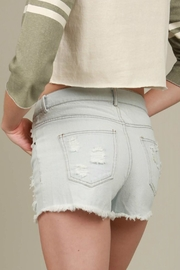 POL Light Denim Shorts - Product Mini Image