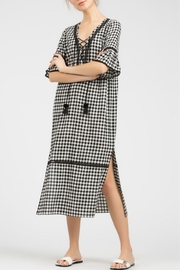 POL Midi Gingham Dress - Product Mini Image