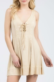 POL Mini Tan Dress - Product Mini Image