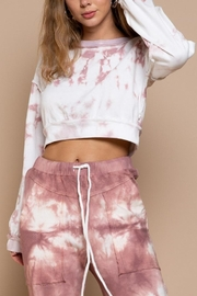 POL Obsessed Or Not Hand Dip Dye Sweatshirt - Product Mini Image