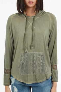 Shoptiques Product: Olive Hoodie