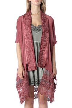 POL Open Front Cardigan - Product List Image
