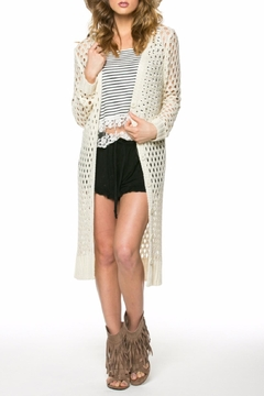 POL Open Knit Cardigan - Product List Image