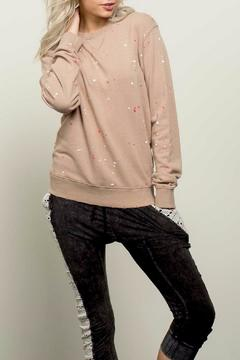 Shoptiques Product: Paint Splatter Sweatshirt