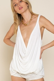 POL Plunging Twist Tank Top - Other