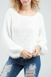POL Popcorn Sweater Top - Product Mini Image