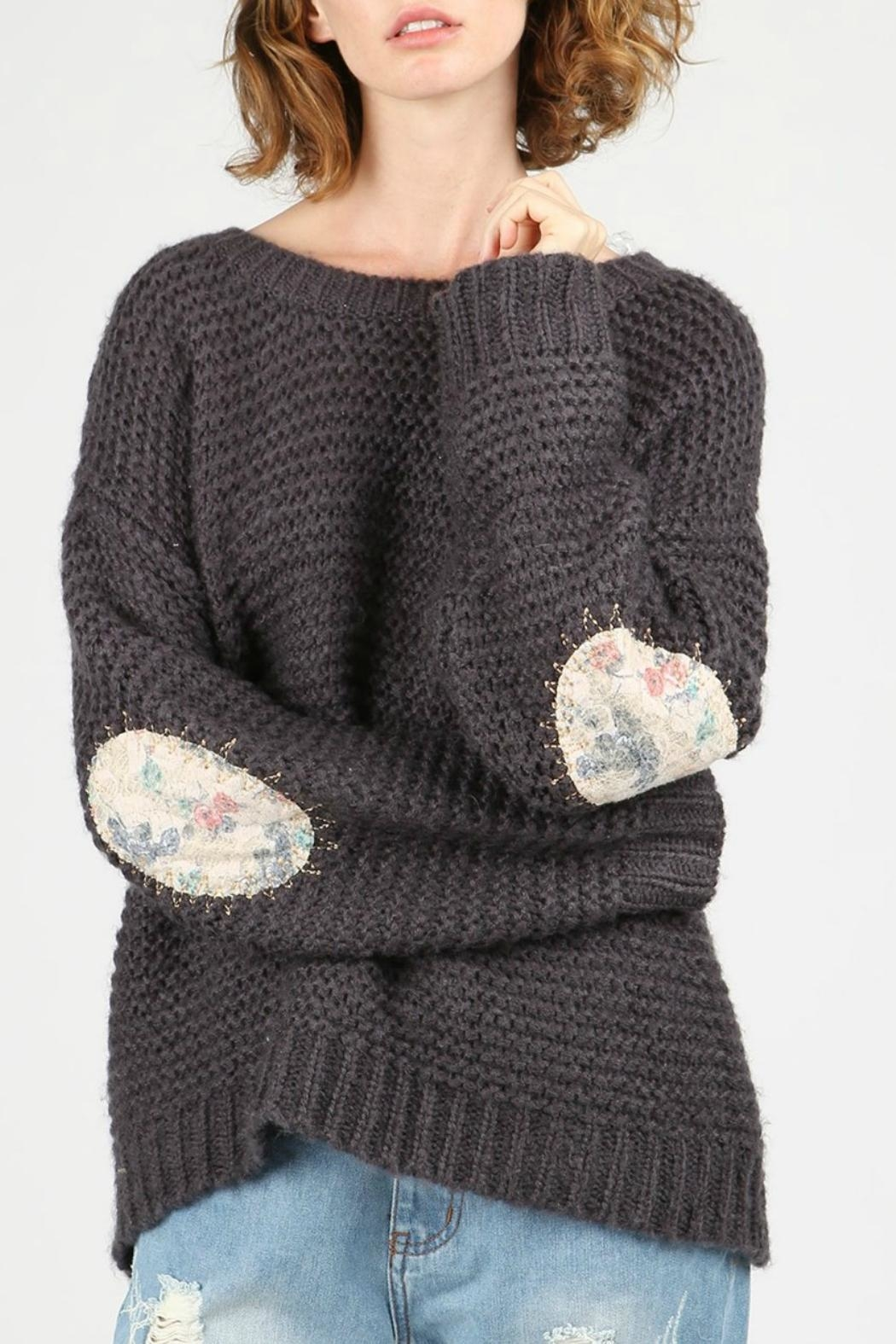 POL Alyssa Pullover Sweater - Front Full Image