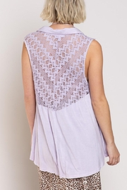 POL Relaxed Sleeveless Woven Top - Side cropped