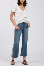 POL Side Stripe Jean - Front cropped