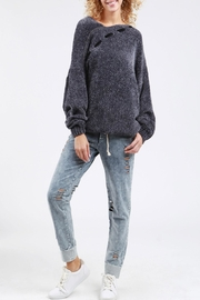 POL Sideline Sweater Charcoal - Product Mini Image