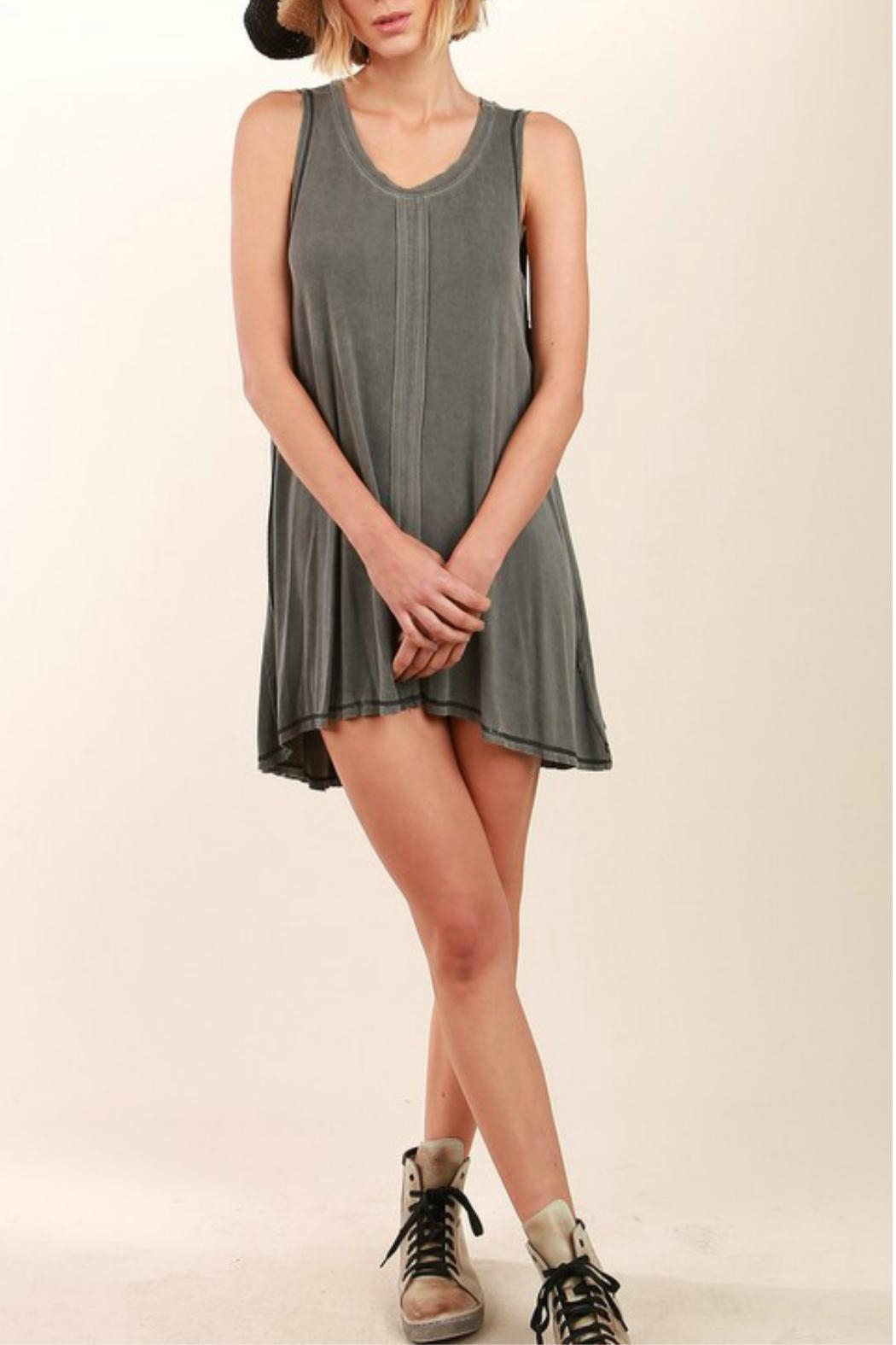 POL Sleeveless Flowing Minidress - Front Cropped Image