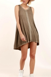 POL Sleeveless Flowing Minidress - Front cropped