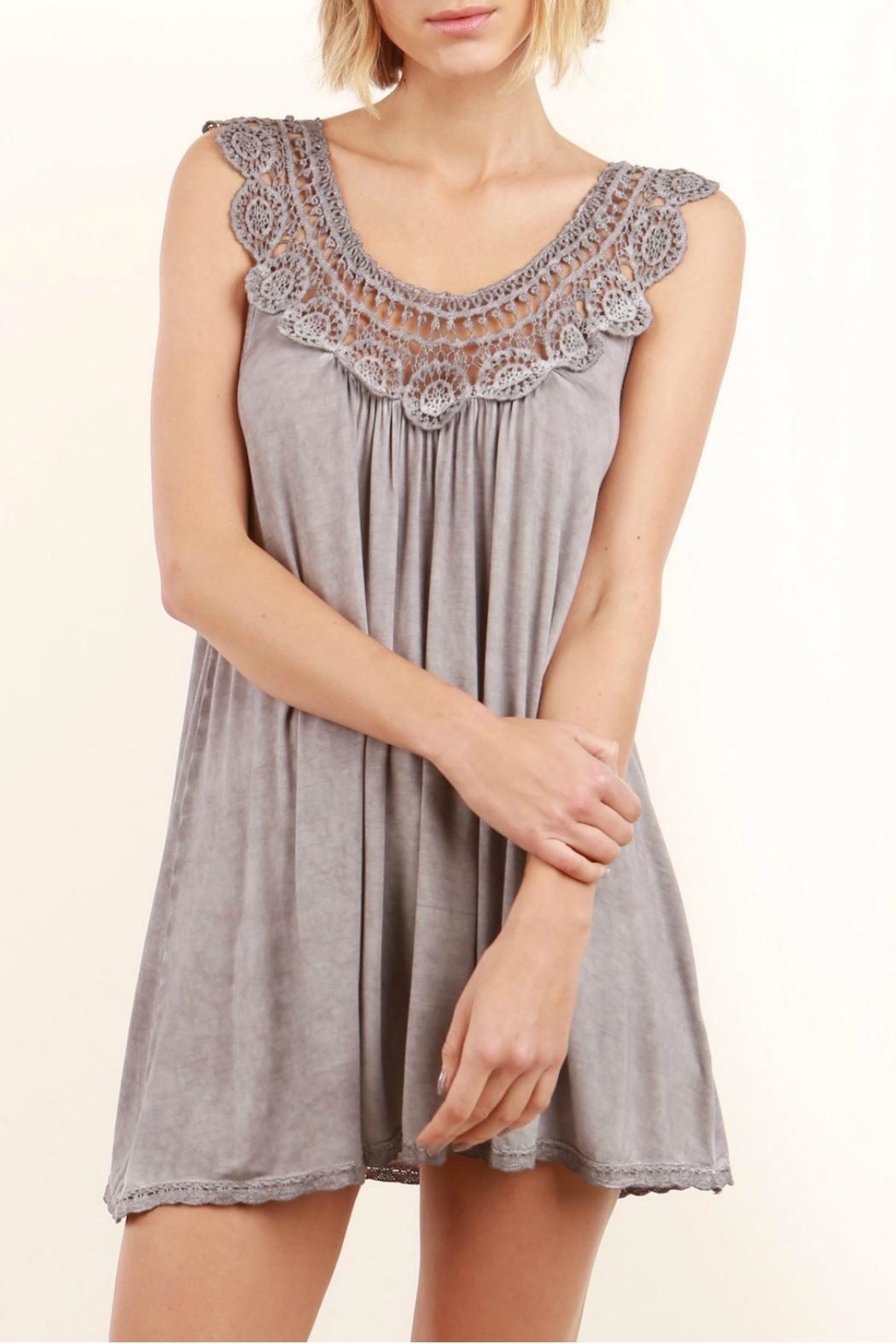 POL Sleeveless Tent Tunic - Front Cropped Image