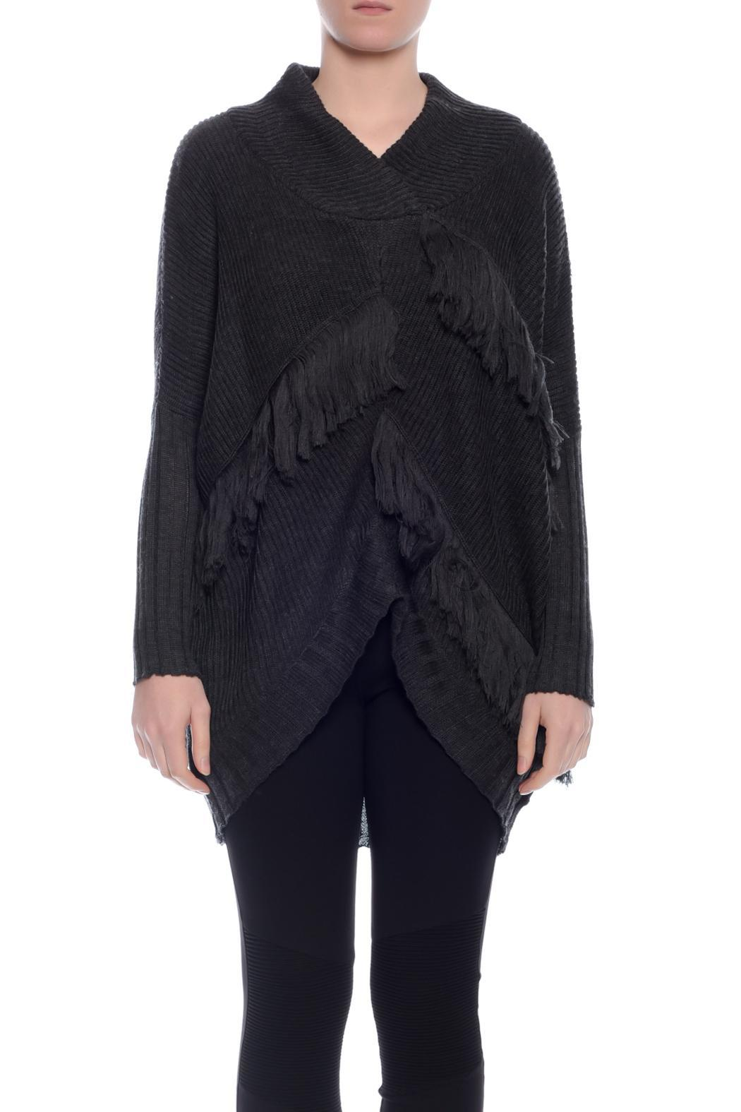 d16a233cc2 POL Soft Fringe Knit Sweater from New South Wales by Carey   Co ...