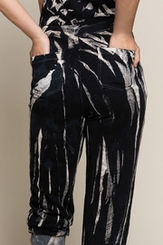 POL Splash Tie-Dye French Terry Overalls - Other