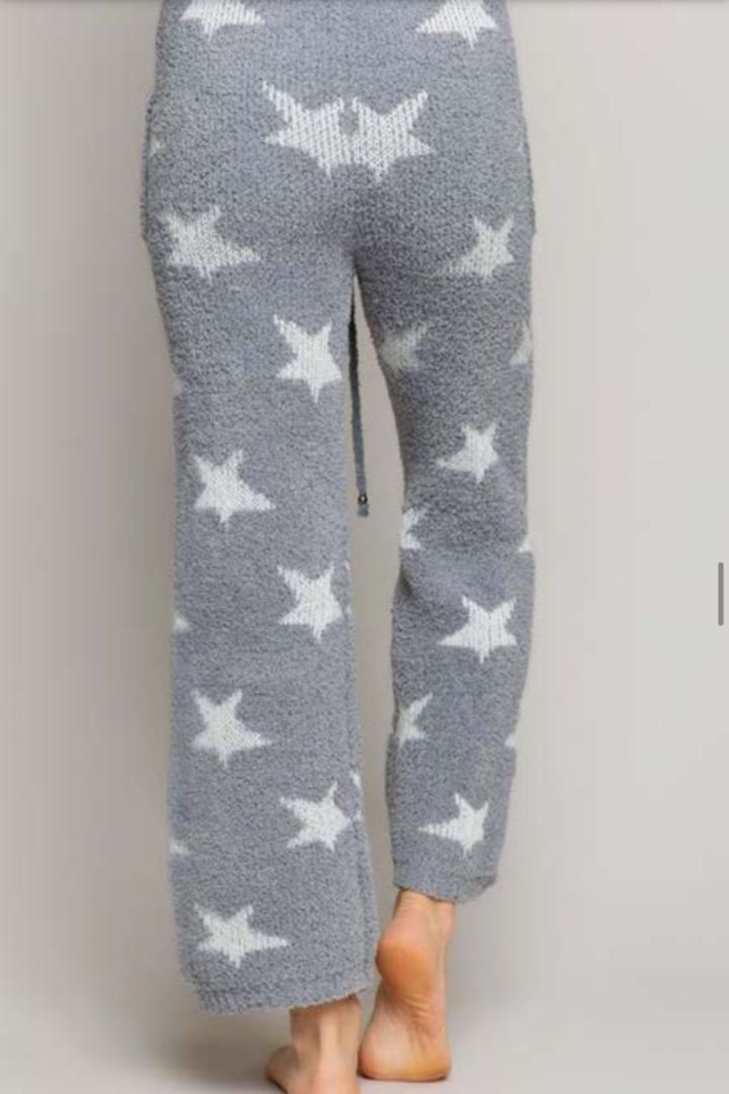 POL Star Fleece Pants - Front Full Image