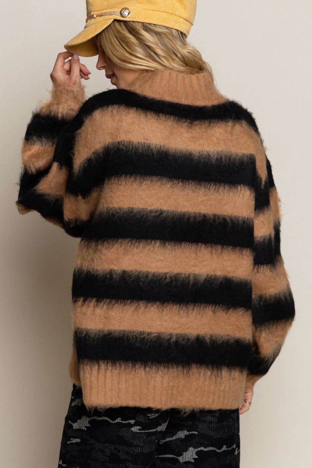 POL Striped Sweater - Main Image