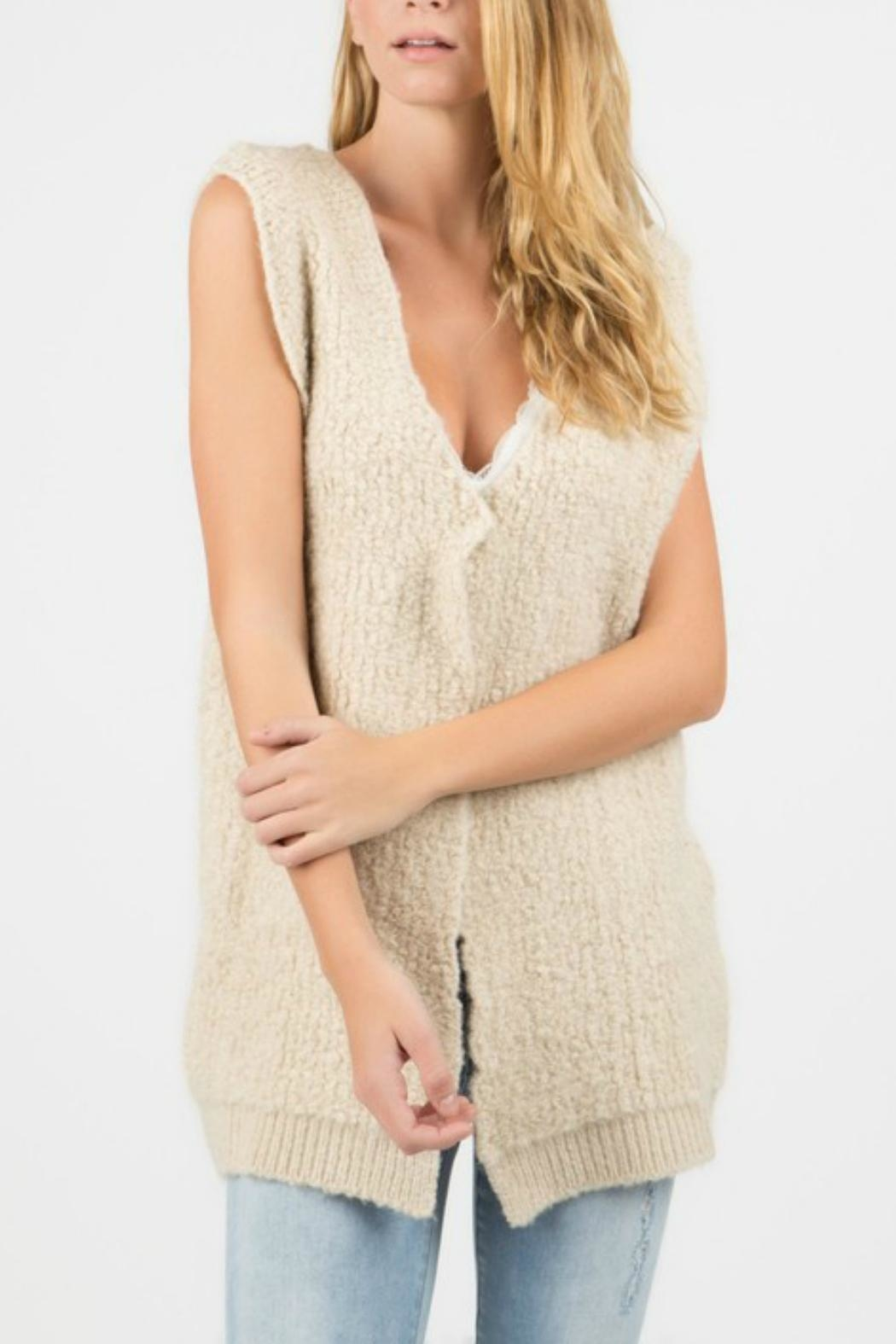 POL Sweater Vest - Front Cropped Image