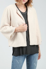 POL Teddy Crop Jacket - Front full body