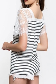POL The Molly Lace-Top - Back cropped