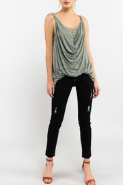 POL Twisted Sleeveless Top - Back cropped