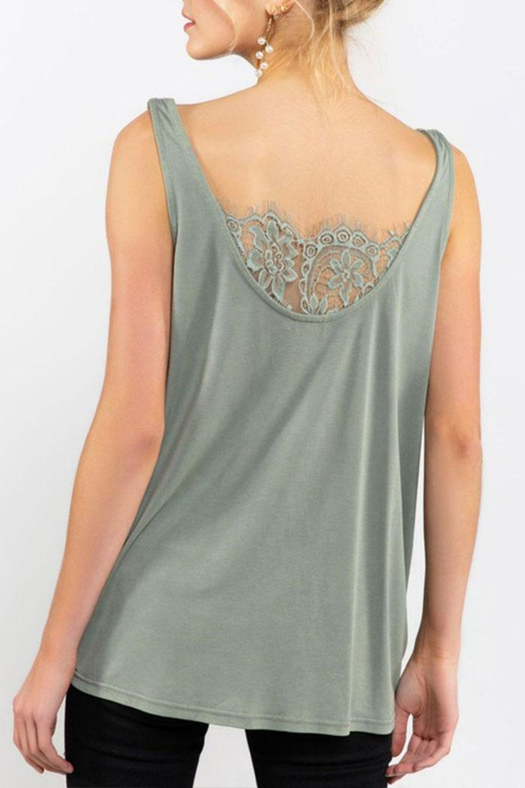 POL Twisted Sleeveless Top - Side Cropped Image