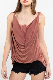 POL Twisted Sleeveless Top - Front cropped