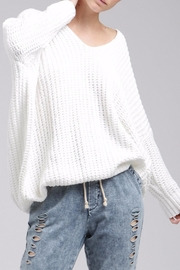 POL V-Neck Sweater - Front cropped