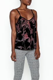POL Velvet Burnout Tank - Product Mini Image
