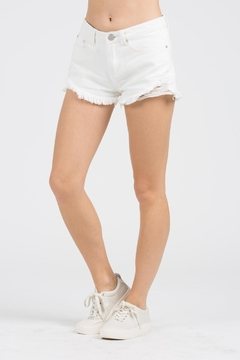 POL Victoria Denim Shorts - Product List Image