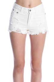 POL White Denim Shorts - Product Mini Image