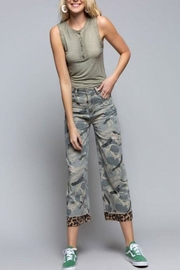 POL Wide Camo Pants - Product Mini Image