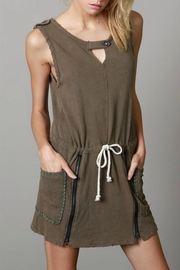 POL Zip Pullover Dress - Front cropped